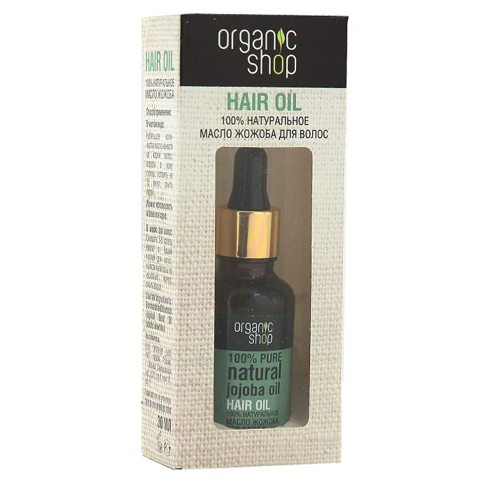 "Hair oil ""Jojoba"", 30 ml"