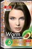 "Hair Colour ""Miss Magic"" 108 G - #104 Brown With Jojoba, Avocado Oil, Almond Oil"