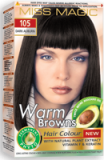 "Hair Colour ""Miss Magic"" 108 G - #105 Dark Auburn With Jojoba, Avocado Oil, Almond Oil"