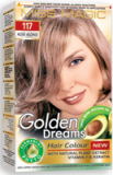 "Hair Colour ""Miss Magic"" 108 G - #117 Rose Blond With Jojoba, Avocado Oil, Almond Oil"