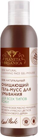 100% Natural Cleansing Face gel-mousse for all skin types 200 ml