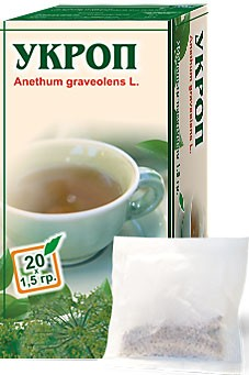 Altai Farm Herb Dill Fruits Filter Packets #20/1.5 G