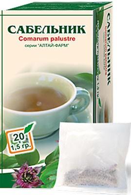 Altai Farm Herb Potentilla Filter Packets #20/1.5 G