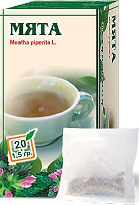 Altai Farm Herb Mint Leaves Filter Packets #20/1.5 G