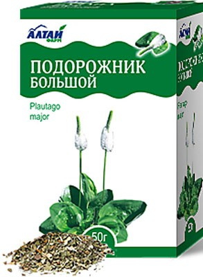Altai Farm Herb Plantain Leaf 50g