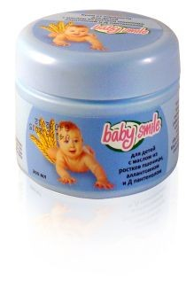 BabySmile Baby Care Cream with Chamomile for Inflammation, 200 Ml