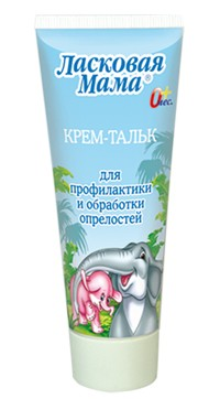 Baby Care Talc Cream against Moist, 75 Ml