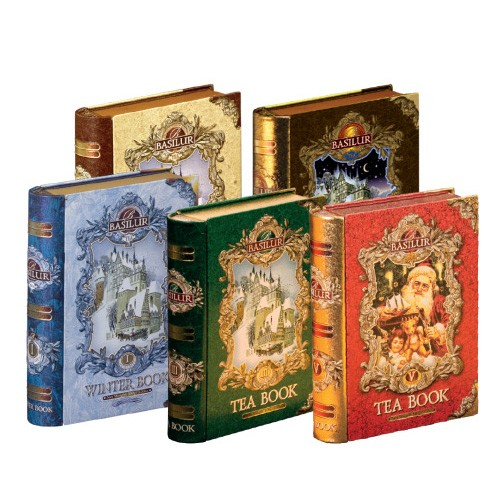 BASILUR Tea Library Set of 5 Books
