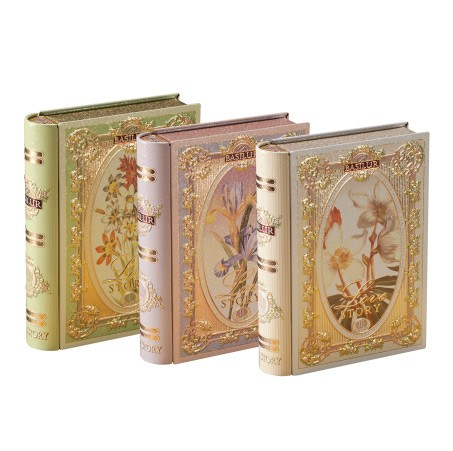 BASILUR Love Story Tea Set of 3 Books
