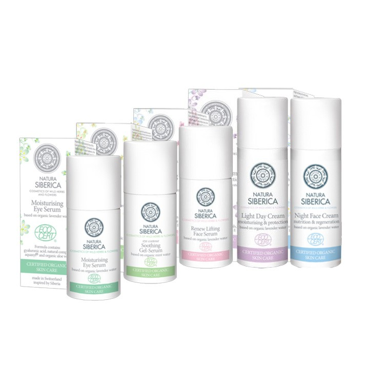 Active Organics Made in Switzerland, set of 5/NATURA SIBERICA