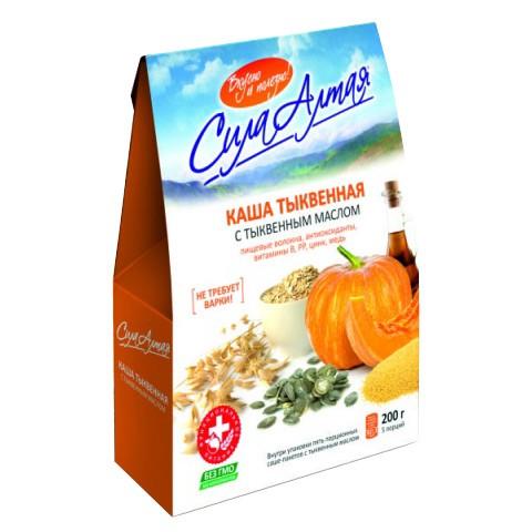 Pumpkin Porridge with Pumpkin Seed oil 5 Servings, 7.05oz (200g)