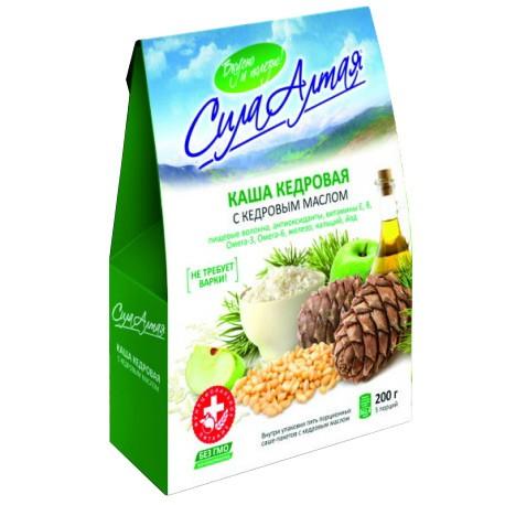 Cedar Porridge with Cedar Oil 5 Servings, 7.05oz (200g)