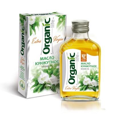 Organic Sesame Oil Extra Virgin, 3.38oz (100ml)