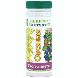 Siberian Fiber Oatmeal STOP Appetite, 6oz (170g)