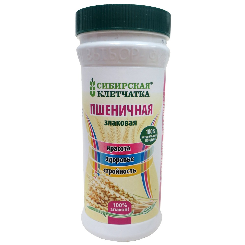 100% Natural Siberian Wheat Fiber 100% Cereals, 9.17oz (260g)
