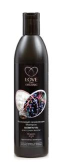 Certified Organic Ingredients Luxurious moisturizing shampoo for dry hair Organic Acai + pearl proteins 360 ml