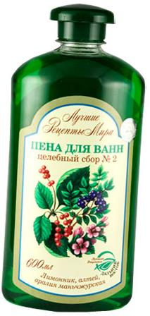 "Bubble Baths ""Herbal Collecting #2"" with Chinese magnolia vine, marshmallow, Manchurian Aralia 600 ml"