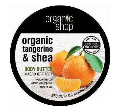 "Body Butter ""Seville Tangerine"" with Organic Tangerine Oil & Shea Butter 250ml"