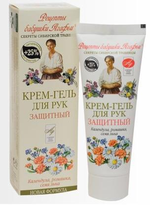 Protective Cream-gel for Hands with Calendula, Chamomile and Flax Seed 75 Ml