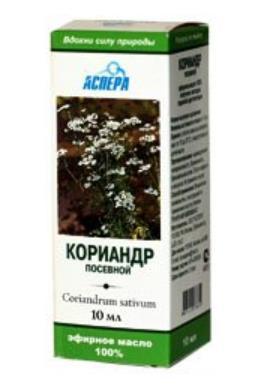 100% Natural Coriander Essential Oil, 10 ml