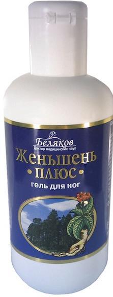 "Foot Gel ""Dr. Belyakov. Ginseng Plus"", 200 ml"