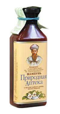 "Shampoo with Tea Tree Oil Anti-Dandruff series ""Natural Pharmacy"" Avicenna 350ml"