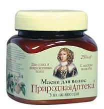 "Moisturizing Hair Mask with jojoba series ""Natural Pharmacy"" Catherine de ' Medici 250 ml"