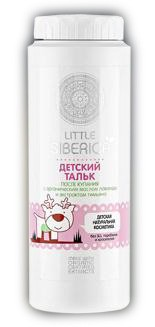 NATURAL & ORGANIC After-bath baby powder with organic extracts of lavender and thyme 100g