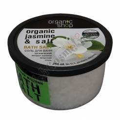 "Bath Salt ""Kashmir Jasmine"" 250 Ml Organic Extract Of Jasmine"
