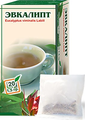 Altai Farm Herb Eucalyptus Leaves Filter Packets #20/1.5 G