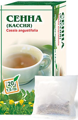 Altai Farm Herb Senna Leaf Filter Packets #20/1.5 G