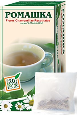 Altai Farm Herb Chamomile Filter Packets #20/1.5 G