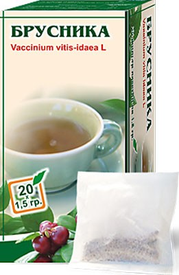 Altai Farm Herb Lingonberry Leaves Filter Packets #20/1.5 G
