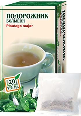Altai Farm Herb Plantain Leaf Filter Packets #20/1.5 G