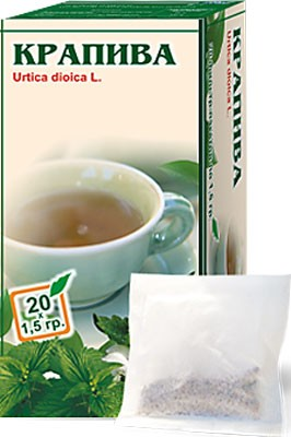 Altai Farm Herb Urtica Dioca Filter Packets #20/1.5 G