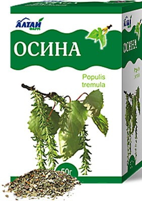 Altai Farm Herb The Bark Of Aspen 50g