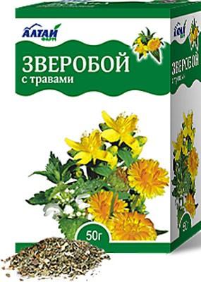 Altai Farm Herb St. John's Wort With Herbs 50 G (50%, St. John's Wort, Calendula, 45% Nettle-5%)