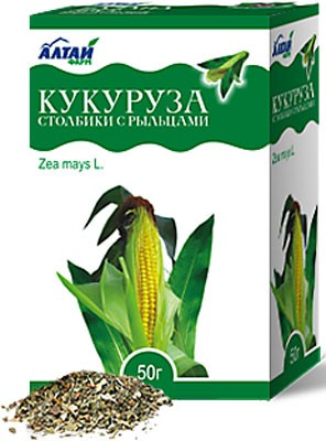 Altai Farm Herb Columns With Maize Stigmas 50g
