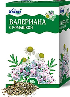 Altai Farm Herb Valerian (with Chamomile) 50g