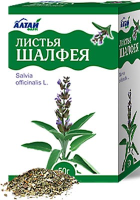 Altai Farm Herb Sage Leaves 50g