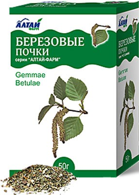 Altai Farm Herb Birch Buds 50g