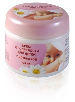 Baby Care Cream with Chamomile for Inflammation, 200 Ml