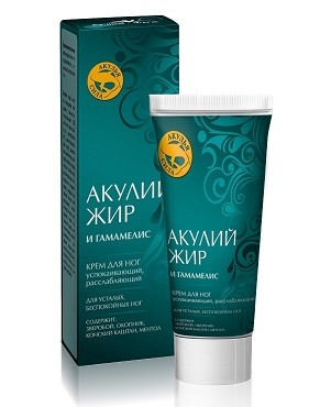 Akuliy Jir Foot Cream with Witch Hazel for Relaxing Feet, 75 Ml