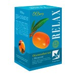 Sea Buckthorn Sedative Tea with Melis RELAX, 20pcs each 0.05oz (1.5g)