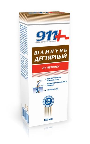 Tar shampoo for dandruff 150 ml