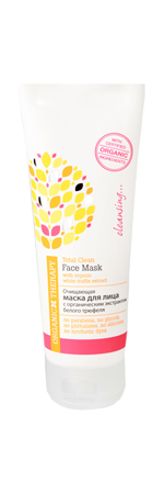 Organic Therapy Face Mask With Organic white truffle extract