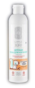NATURAL & ORGANIC Children bath foam before bed With organic extracts of Mallow and Sage 250ml