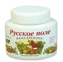 "Moisturizing hair mask with yogurt series ""Russian field"" for all hair types 250 ml"