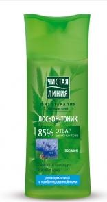 Tonic Lotion for normal and combination skin decoction of herbs with cornflower extract 100 ml