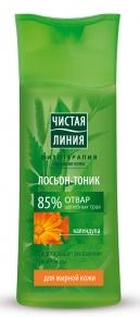 Tonic Lotion for oily skin on the broth of herbs with Calendula extract 100 ml